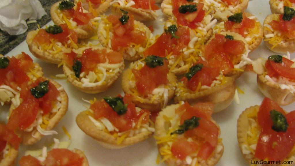 Mini Tomato Tart